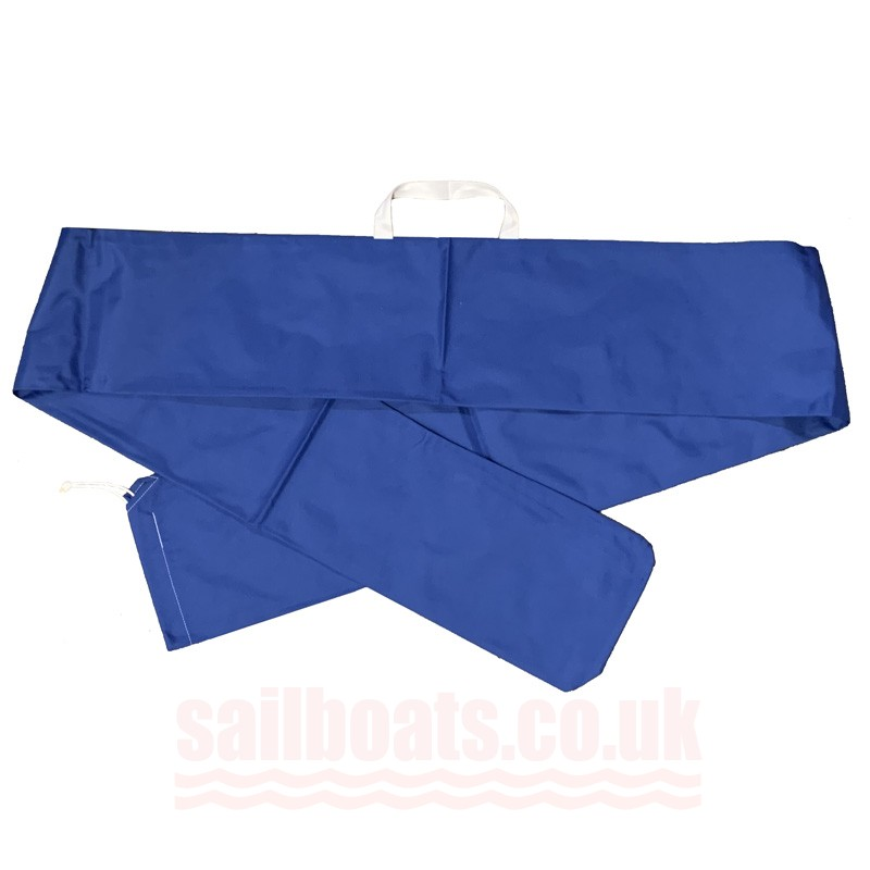 Sailboats Rolled / Long Sail Bag For ILCA / Laser Blue