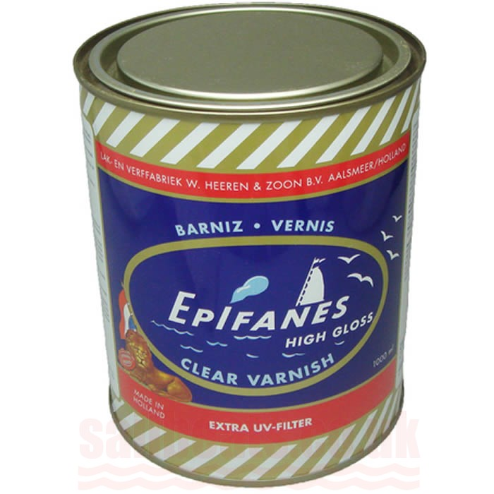 Epifanes Clear Gloss Varnish 250ml 500ml or 1 Litre E
