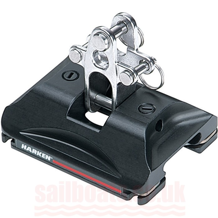 Harken Small Boat CB Traveller Car w/ Stand Up Toggle 2730