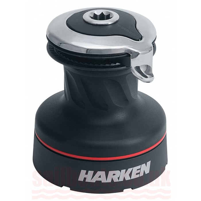 Harken Aluminum Hydraulic Radial Winch: Radial Self Tailing 35.2STA 35.2STA