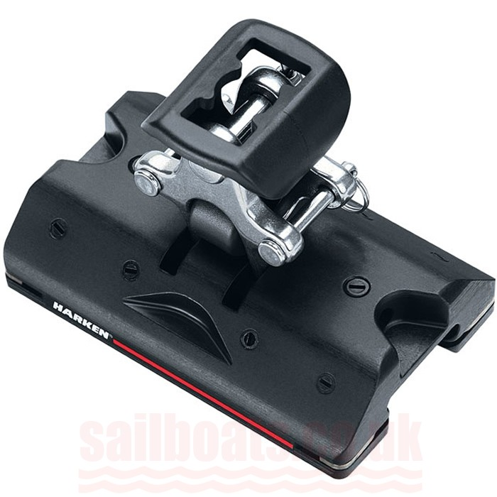 Harken 27mm Midrange Traveller Car High Load with Stand-Up Toggle and Ears T2703B.HL