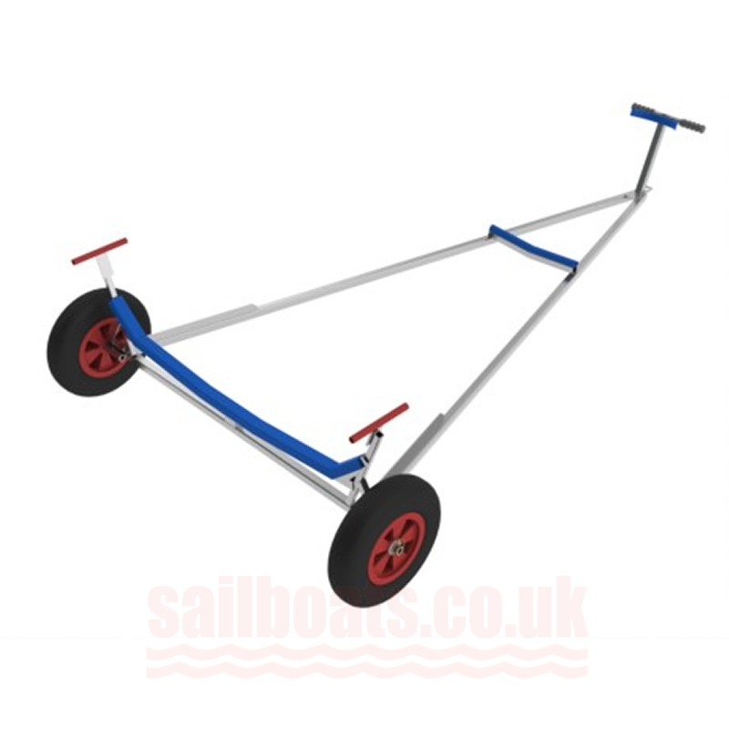 West Mersa Stacking Trolley Compatible With ILCA Dinghy/Laser1