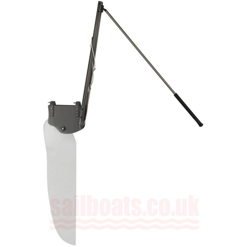Sailboats Rudder Assembly Compatible With Bahia