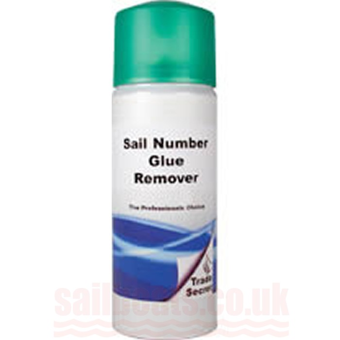 Sail Number Glue Remover