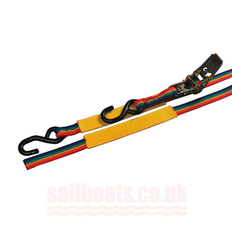 Sailboats 4m Ratchet Strap With Hooks Compatible With ILCA Dinghy/Laser1