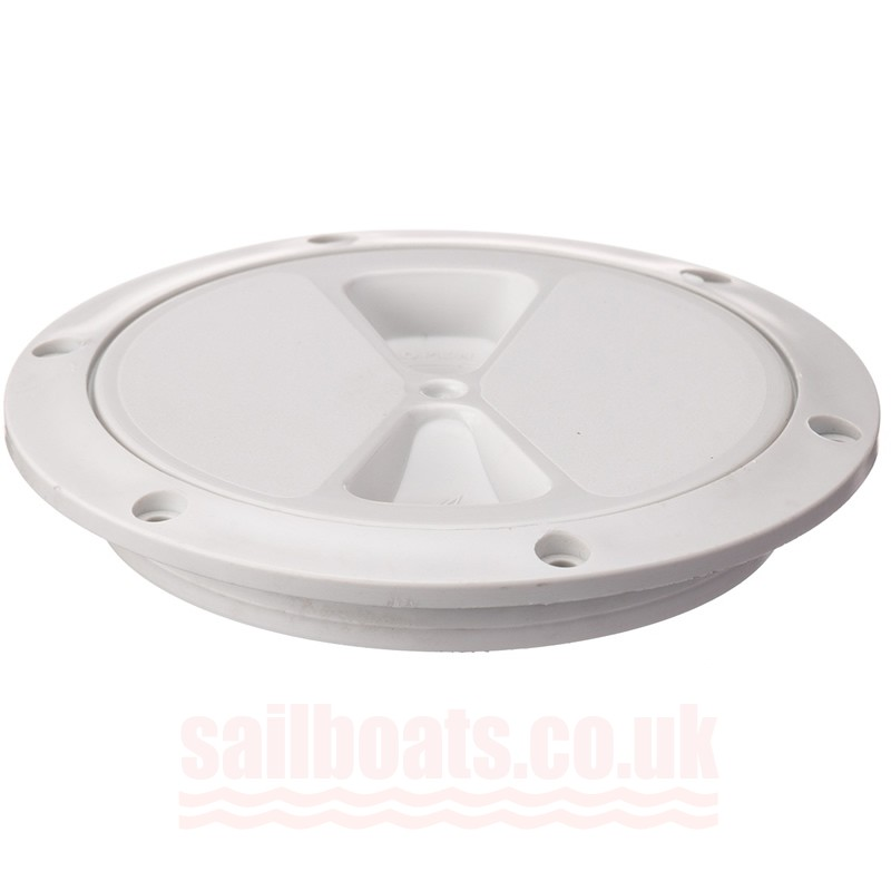 "Rwo Inspection Hatch 5"" White R4050"
