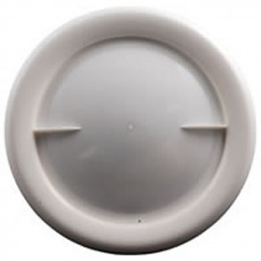 "Allen Hatch Cover 9"" 223mm White A0637-WH"