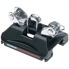Harken Small Boat CB Traveller Car with Pivoting Shackle and Control Tangs 2753