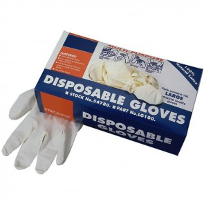Latex Disposable Gloves (Pack of 10)