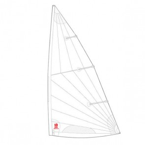 Sailboats Replacement Training Sail Compatible With Laser Standard Mark II