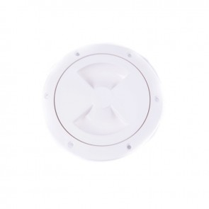 "Sea Sure Inspection Hatch 4"" White 18-70W"