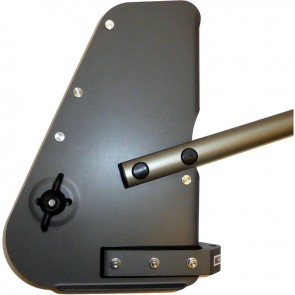 Sea Sure Alloy Solo Rudder Stock with Alloy Tiller 99-333L