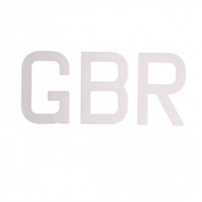Topper GBR Championship Letters Set of 6 ST10/GBR