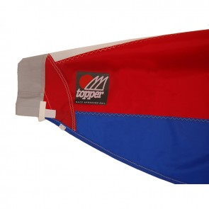 Topper Sail 5.3 Rolled Sail Red/Blue W60/RBF/SE